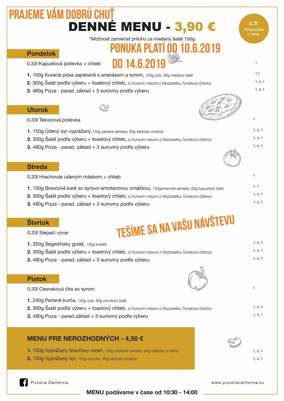 ae4738add7 Denné menu od 27.5.2019